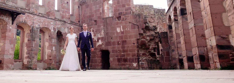 Hochzeit auf dem Heidelberger Schloss